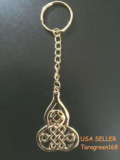 Fengshui Keychain Wu Lou Chinese Knot For Good Luck
