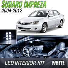 2004-2012 Subaru Impreza White LED Lights Interior Kit