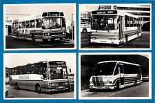 4 Bus Photos ~ Stagecoach Hampshire Bus - Single Decker Miscellany - 1991/2