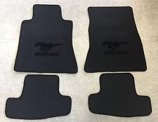 Autoteppich Fußmatten für Ford Mustang ab 2015' Anthrazit schwarz Neu Velours