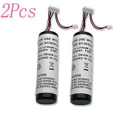 2 x Battery fits Garmin Astro Dc20 Dc30 Dc40 Gps Dog Collar Transmitters 2600mAh