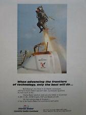 5/1988 PUB MARTIN BAKER EJECTION SEAT SIEGE EJECTABLE V-22 OSPREY ESCAPE AD