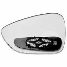 Driver side Clip Heated Wide Angle wing mirror glass for Peugeot 508 10-13