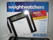 WeightWatchers Digital Body Analysis BMI Glass Scale by ConAir