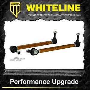 Whiteline Front Adjustable Extra Heavy Duty Sway Bar - Link for Skoda Fabia