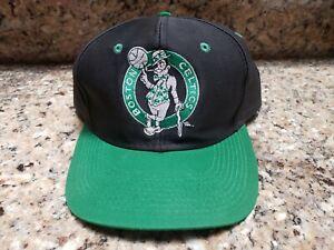 Vintage Boston Celtics Snapback Hat Logo 7