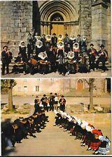 BUJALEUF (87) ensemble de 2 cpsm groupe folklorique musiciens