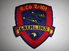 US Army B Company 2nd Battalion 101st Aviation Regiment GREMLINS Patch