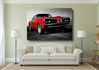 Classic Dodge Vintage Muscle Car Giant Wall Art Poster Print - Various Sizes