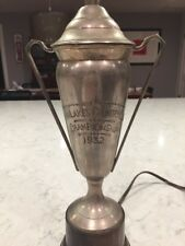 Antiqued Twin Lakes Country Club 1932 Golf Trophy Lamp : Currey & Company 6383