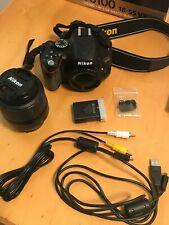 Nikon D D5100 16.2Mp Digital Slr Camera - Black (Kit w/ Af-S Dx Vr 18-55mm)