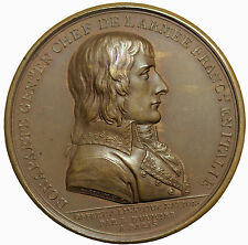 France Napoleon I Bonaparte Treaty Of Campo Formio Paris Mint Medal Hennin811var