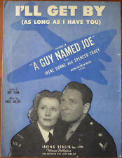 """More details for i'll get by (as long as i have you) from """"a guy named joe"""", spencer tracy 1943"""