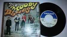 """THE MOODY BLUES """"VOICES IN THE SKY""""  1968 DERAM 17.014 pop mod rock"""