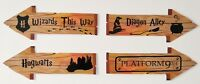 Harry Potter Hogwarts Party Props / Decoration Wizards Arrow Signs Glossy Finish