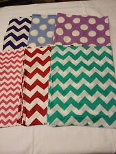 52x22 Standard Daycare cot sheets Assorted  Prints (6 sheets)