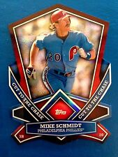 2013 Topps Mike Schmidt Cut To The Chase Die Cut Insert Card Phillies CTC-19