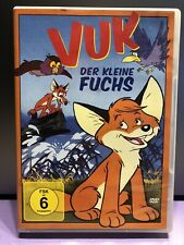 Vuk - Der kleine Fuchs von Attila Dargay | DVD | Zustand Sehr Gut . Trickfilm