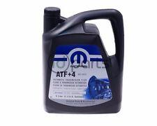 Automatic Transmission Fluid ATF+4 (5 Liter) Mopar Chrysler Dodge 1.3 Gallons