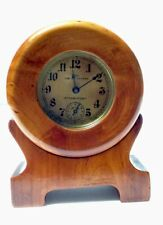 "New ListingAntique Wood Frame ""The Junior Tattoo Intermittent.� New Haven Clock-Works"