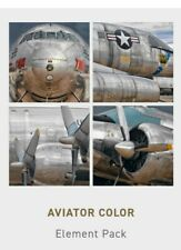 """NEW- Peter Lik Aviator Color(Set of Four) Elements 9.75"""" Photographic FineArt"""