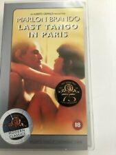 Last Tango in Paris vhs tape