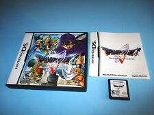 Dragon Quest V: Hand of the Heavenly Bride Nintendo DS Lite w/Case & Manual