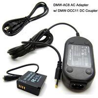 AC Adapter Power Supply For Panasonic Lumix DMC-GF3 DMC-GF5 DMC-GF6 DMC-GX7 Mark
