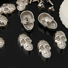 Screwback Skull Stylish Studs Rock Rivet Spike for Clothing Shoes Leather crafts