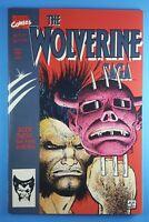 Wolverine Saga #3 Marvel Comics 1989 John Romita Jr Cover Art 52pgs