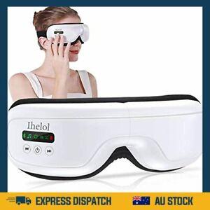 Eye Massager with Heat Air Compression Vibration Bluetooth Music Shiatsu AU