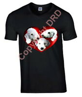 Bedlington Terriers Heart Plus Size Tee Tshirt 3XL T-shirt Mothers Day Gift