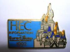 PIN'S  EURODISNEY 1992 /  HEC INFORMATION  /  DORE