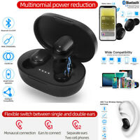 2020 New A6S TWS Stereo Airdots Headset Bluetooth 5.0 Earphone Headphone Earbuds