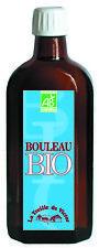 JUS DE BOULEAU BIO - Draineur - Bouteille de 250 ml - La Treille de Victor