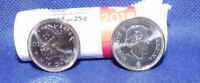 1-2018 Canada First Strike Quarter direct from RCM Special Wrap Roll.. Unc