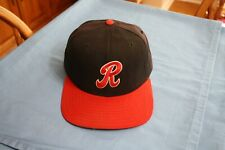 Paul Carey 1993-94 Rochester Red Wings game used hat New era size 7 1/4