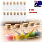20-100x Clear Mini Small Cork Stopper Tiny Glass Vial Jars Containers Bottle