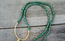 Venetian African Trade Beads Striped Melon Beads 03