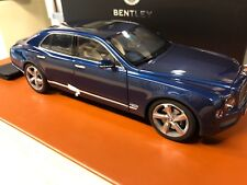 2014 Bentley Mulsanne Speed Marlin 1:18 Scale Model #BL1295, NEW