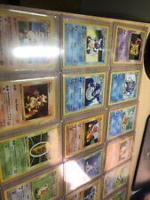 (55) 1st Edition Shadowless Base Set Pokemon Card lot