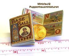 M 1:12 Nostalgisches Bilderbuch Puppenhaus Puppenstube 1023# Bilder ABC