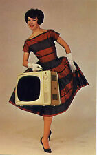 Electrohome Courier≈'bantam weight' Portable Tv≈Photo Postcard