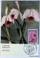 CPA  MAXIMUM POSTCARD  FLORALIES D ORLEANS   1968  1528