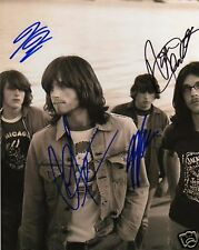 KINGS OF LEON SIGNED 8x10 PHOTO in Person W/PROOF!!!!!!