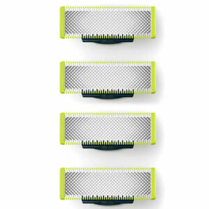 4pc Philips QP220 Replacement Beard Shaving Blades Heads for OneBlade Pro Handle