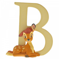 Disney Enchanting Alphabet 3D Letter B Bambi Deer Fawn A29547 Ornament Figurine
