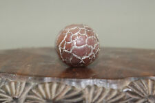 tibetan prayer worry dzi bead Hand-carved agate amulet gzi antique tibet k237000