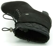 NEW CLARKS LEMONY DESSERT BLACK LEATHER BOOTS - UK size 5.5D