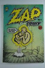 ZAP COMIX #0, 35 cents cover, October 1967, UNDERGROUND COMIC, ROBERT CRUMB
